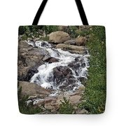 Rocky Mountain Falls Tote Bag