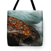 Rocky Mountain Stream Tote Bag