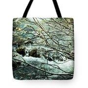 Rocky Mountain Stream Tote Bag