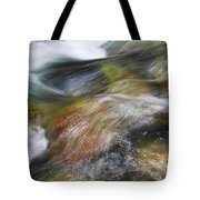 Rocky Riverbed Tote Bag