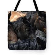 Rodeo Bucking Stock Tote Bag