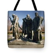Rodin: Burghers Of Calais Tote Bag