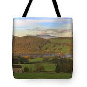 Roe House Overlooks Ullswater Near Pooley Bridge In The Lake District Tote Bag