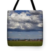 Rogue Valley Red Roof Farm Tote Bag