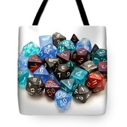 Role-playing Dices Tote Bag