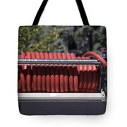 Rolled Fire Hose Tote Bag