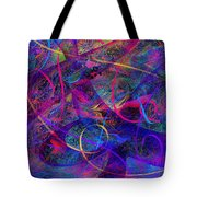 Roller Coaster Tote Bag by Rachel Christine Nowicki