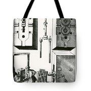 Rolling Mill For Lead Strips Tote Bag by Photo Researchers