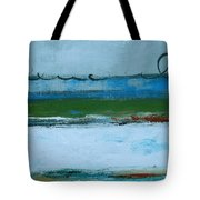 Rolling On The Blue II Tote Bag