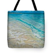 Rolling Wave Tote Bag