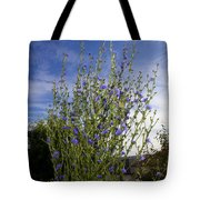 Romaine Lettuce Flowers Tote Bag by Donna Munro
