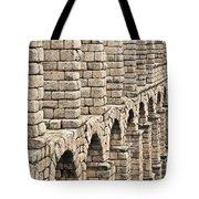 Roman Aqueduct Segovia Tote Bag