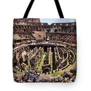Roman Coleseum Interior Tote Bag