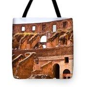 Roman Coliseum Interior Tote Bag