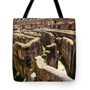 Roman Coliseum Underground Tote Bag