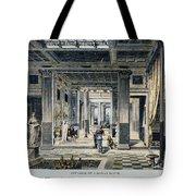 Roman House Interior Tote Bag
