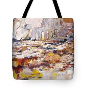 Roman Relicts Abstract 4 Tote Bag