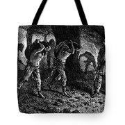 Roman Slavery: Coal Mine Tote Bag by Granger