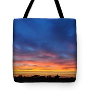 Roman Sunset Tote Bag