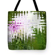 Romance In Paris - Abstract Art Tote Bag
