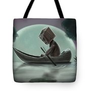 Romantic Boat Ride For One Tote Bag