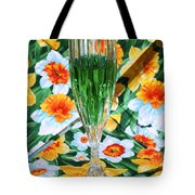 Romantic Emerald Tote Bag