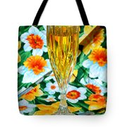 Romantic Gold Tote Bag