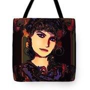 Romantic Lady Tote Bag