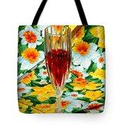 Romantic Ruby Tote Bag