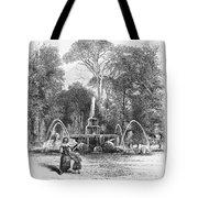 Rome: Borghese Gardens Tote Bag