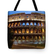 Rome Colosseum Dusk Tote Bag