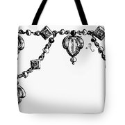 Rome: Gold Collar Tote Bag