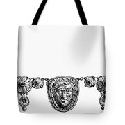 Rome: Gold Necklace Tote Bag