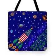 Romney Rocket - Restoring America's Promise Tote Bag