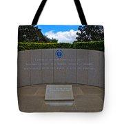 Ronald Reagan Memorial Tote Bag