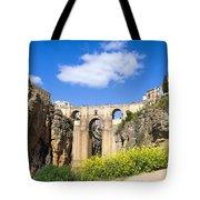 Ronda Bridge In Spain Tote Bag