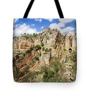 Ronda Rocks In Andalusia Tote Bag
