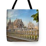 Rong Khun Temple Tote Bag