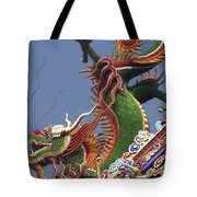 Roof Dragon Tote Bag