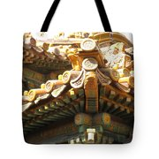 Roof Of Forbidden City Tote Bag
