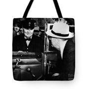 Roosevelt & Churchill, 1944 Tote Bag