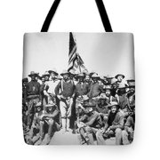 Roosevelt & Rough Riders Tote Bag
