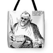 Roosevelt Cartoon, 1938 Tote Bag