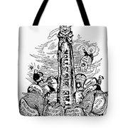 Roosevelt Cartoon, C1904 Tote Bag