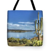 Roosevelt Lake  Tote Bag