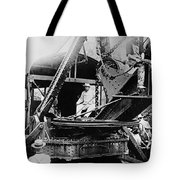 Roosevelt, Panama Canal Construction Tote Bag