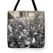 Roosevelt Speech, 1905 Tote Bag