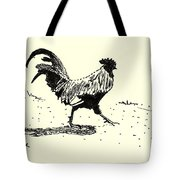 Rooster's Stride Tote Bag