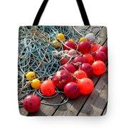 Ropes And Buoys Tote Bag