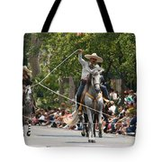 Roping Vaquero Tote Bag